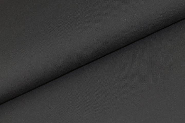 Katoen Tricot -Zwart
