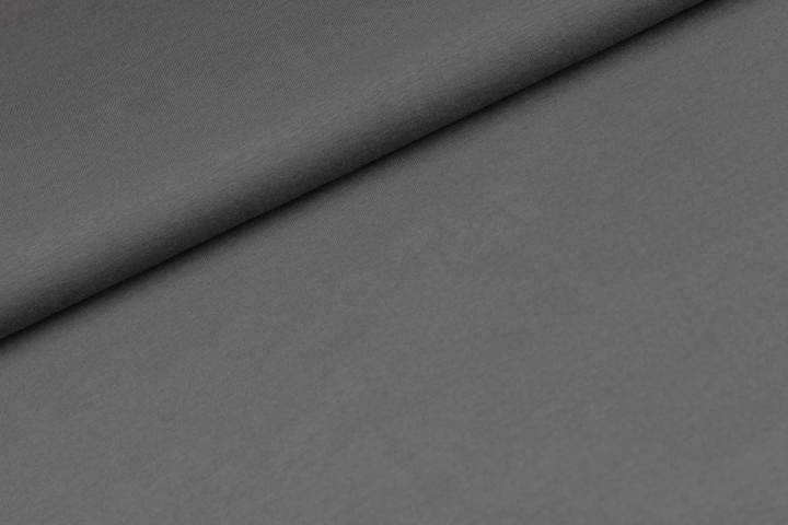Katoen tricot - donker antraciet