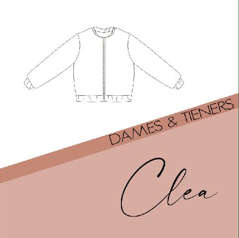 Patroon Clea Bomberjas Dames/Tieners - Bel'etoile