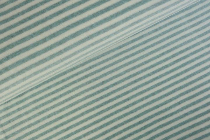 Stripes Nicky velours Zeegroen Melange