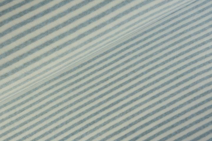 Stripes Nicky velours Lichtblauw Melange