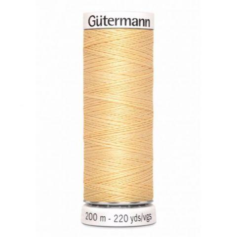Naaigaren 200m Lichtgeel 003 - Gütermann