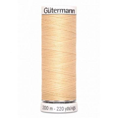 Naaigaren 200m Beige 006 - Gütermann