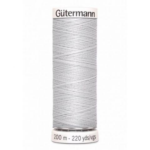 Naaigaren 200m Grijs 008 - Gütermann