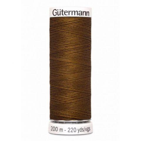 Naaigaren 200m Bruin 019 - Gütermann