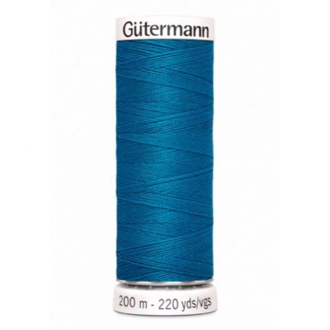Naaigaren 200m Turquoise 025 - Gütermann