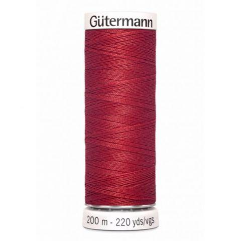 Naaigaren 200m Rood 026 - Gütermann
