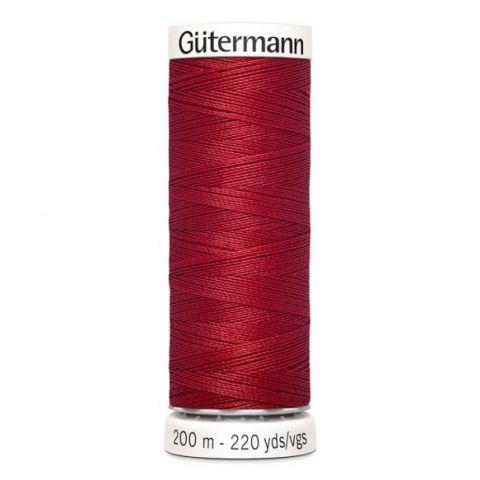 Naaigaren 200m Rood 046 - Gütermann