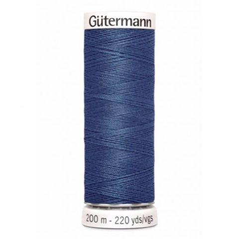 Naaigaren 200m Blauw 068 - Gütermann