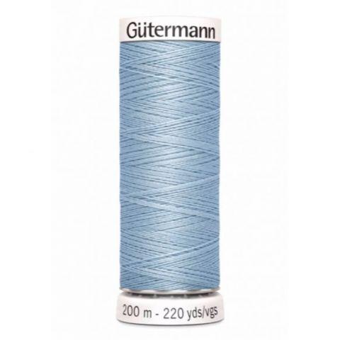 Naaigaren 200m Lichtblauw 075 - Gütermann
