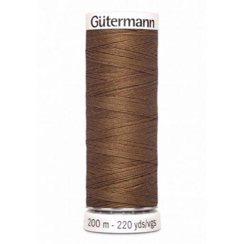 Naaigaren 200m Bruin 124- Gütermann