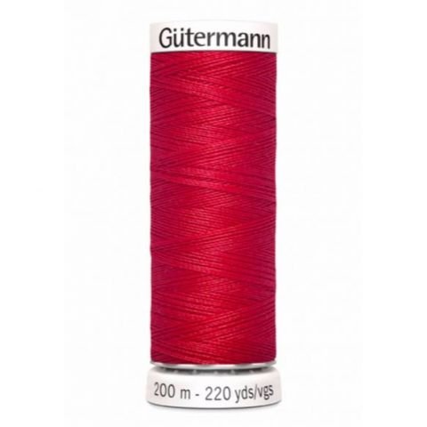 Naaigaren 200m Rood 156 - Gütermann