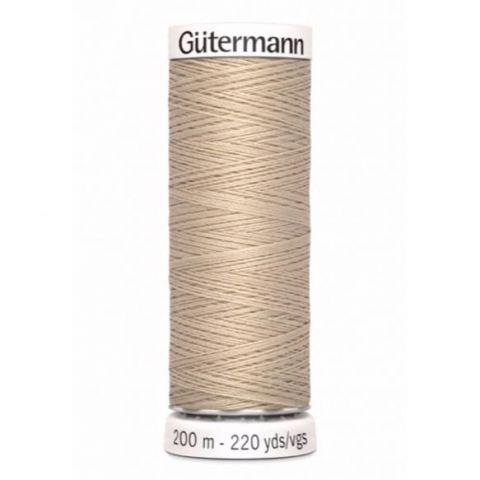 Naaigaren 200m Beige 198 - Gütermann