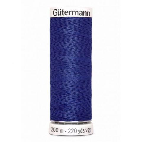 Naaigaren 200m Blauw 218 - Gütermann