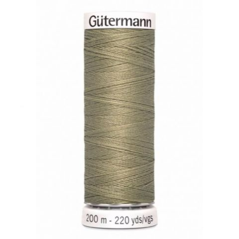 Naaigaren 200m Kaki 258 - Gütermann
