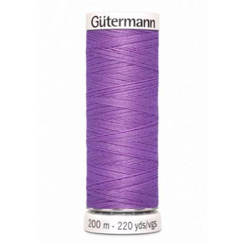 Naaigaren 200m Paars 291 - Gütermann