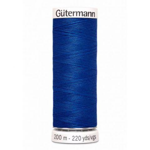 Naaigaren 200m Blauw 316 - Gütermann
