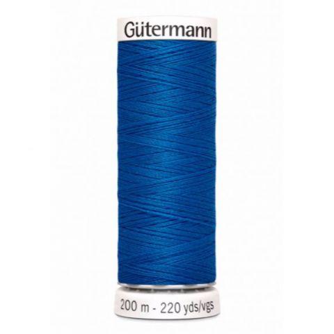 Naaigaren 200m Blauw 322 - Gütermann