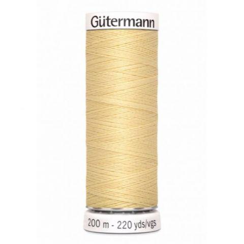 Naaigaren 200m Lichtgeel 325 - Gütermann