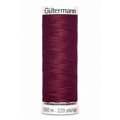 Naaigaren 200m Bordeaux 375 - Gütermann