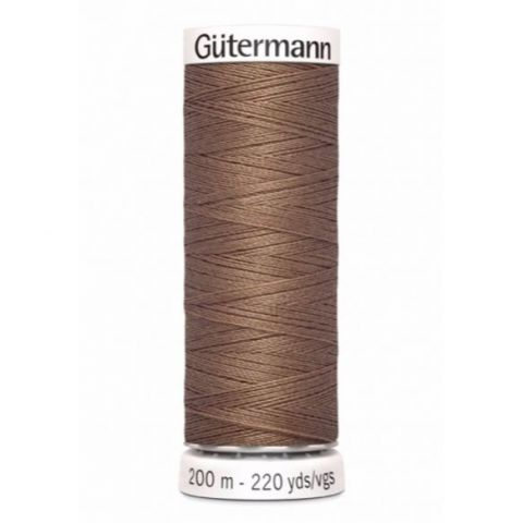 Naaigaren 200m Bruin 454 - Gütermann