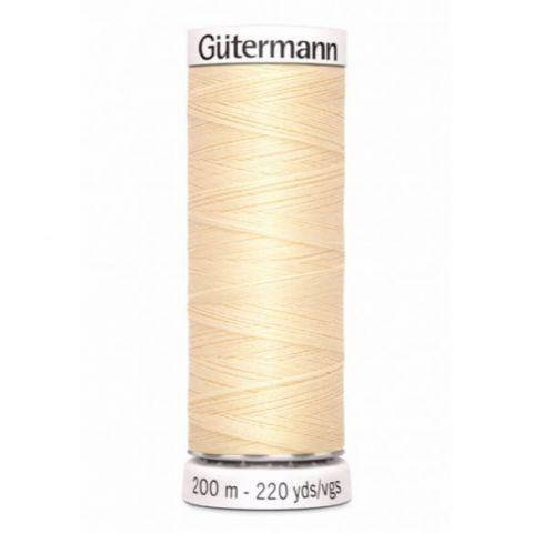 Naaigaren 200m Beige 610 - Gütermann