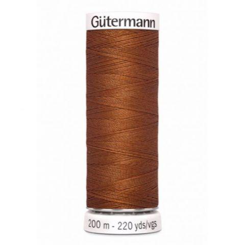 Naaigaren 200m Bruin 649 - Gütermann