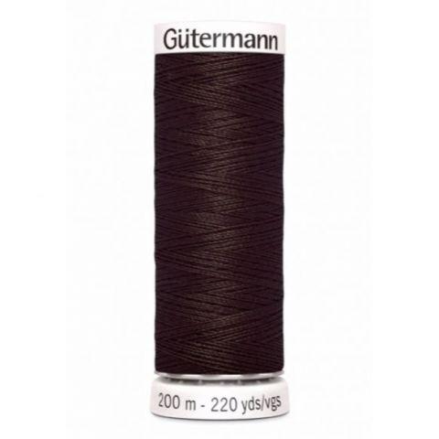 Naaigaren 200m Bruin 696 - Gütermann
