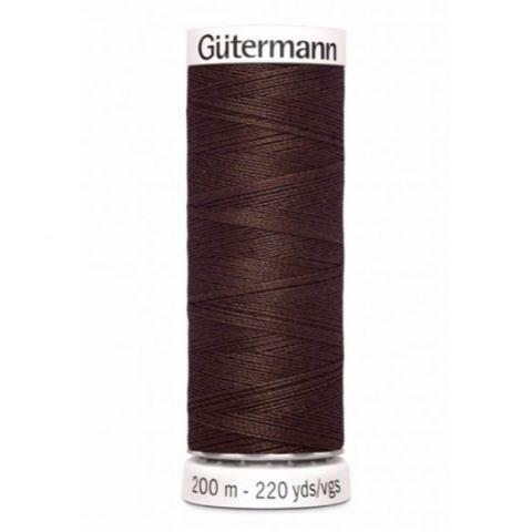 Naaigaren 200m Bruin 774 - Gütermann