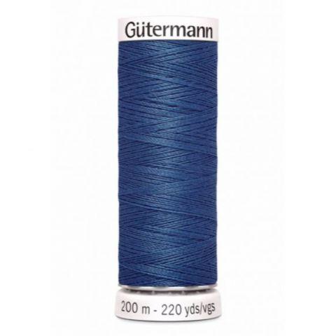 Naaigaren 200m Blauw 786 - Gütermann