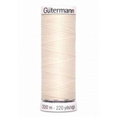 Naaigaren 200m Sea Salt White 802 - Gütermann