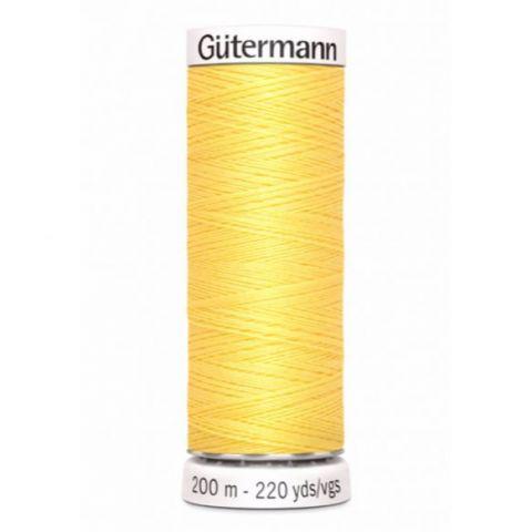 Naaigaren 200m Popcorn Yellow 852 - Gütermann