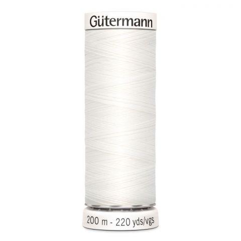 Naaigaren 200m Wit 800 - Gütermann