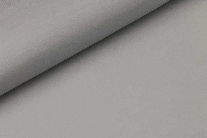 Katoen tricot - zilver
