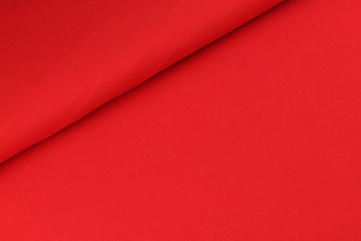 Katoen tricot - Ferrari rood