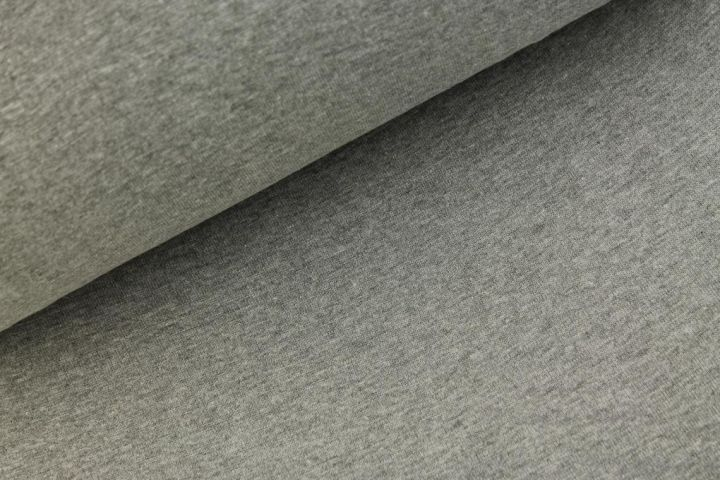 Fijne boordstof - grijs melange