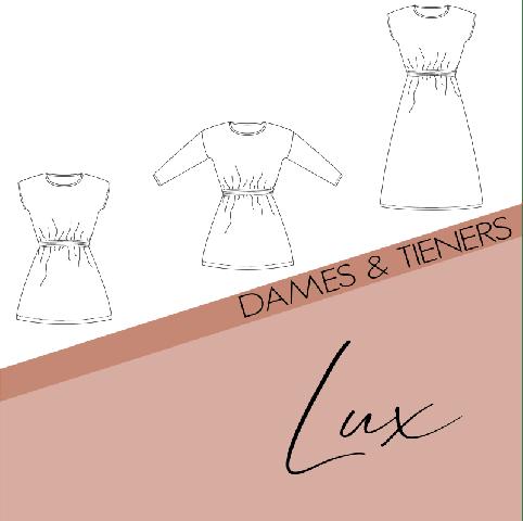 Patroon Lux jurk dames - Bel'etoile