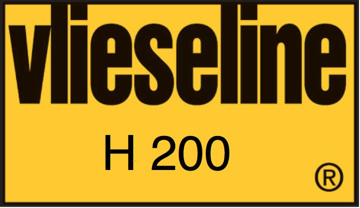 Vlieseline H 200 - zwart