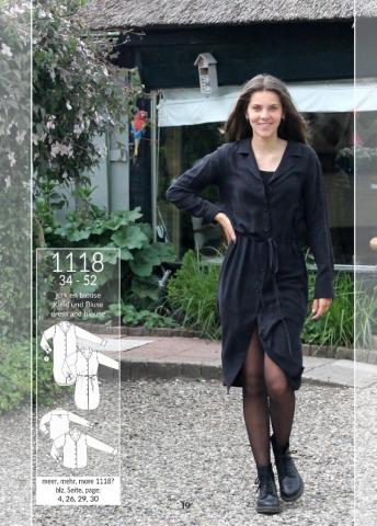Patroon jurk en blouse 1118 - It's a fits
