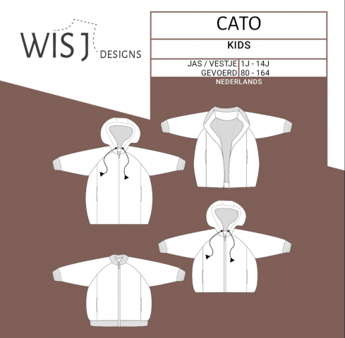 Patroon Cato Jas/Bomber - Wisj