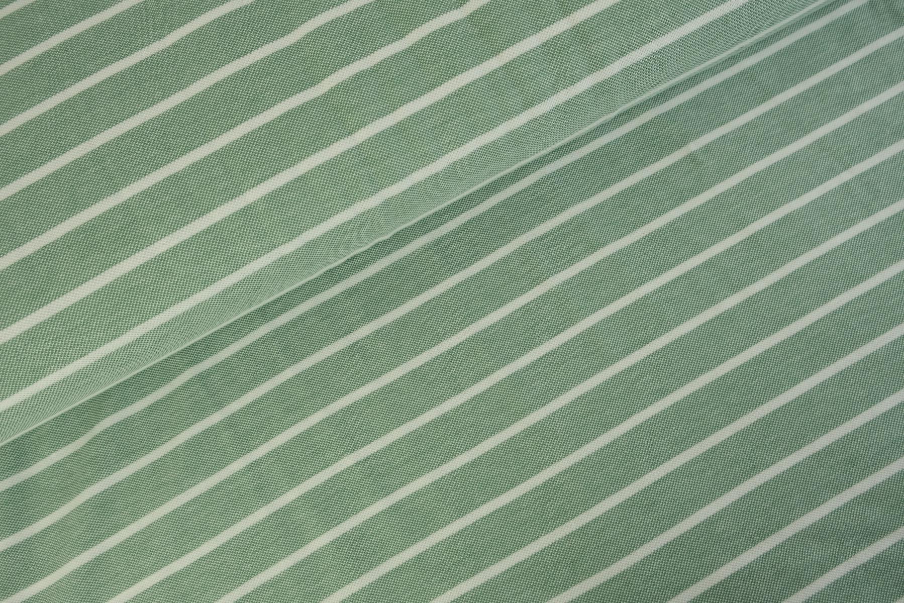 Stripes Polo Tricot Oudgroen