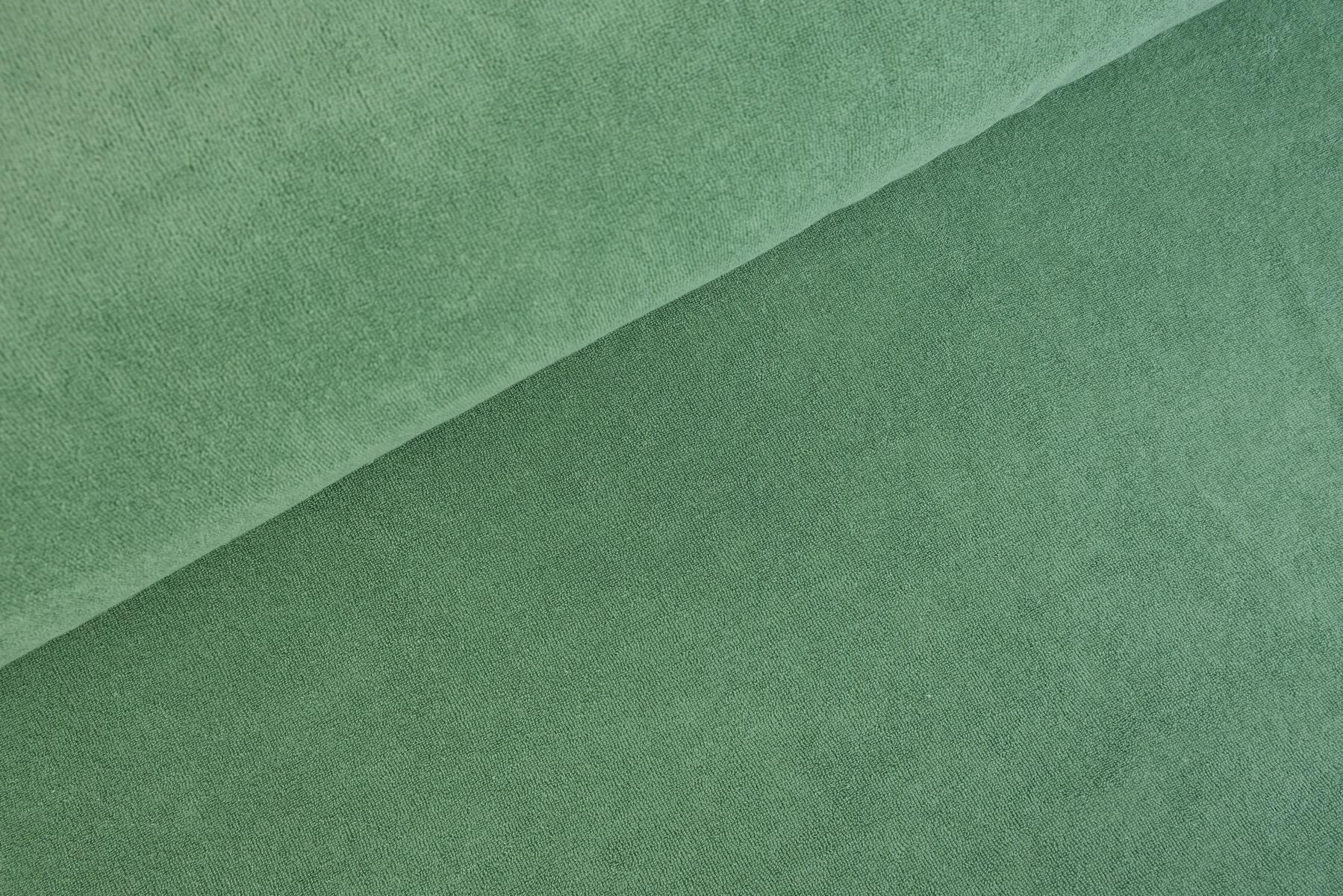 Rekbare Badstof / Spons Groen