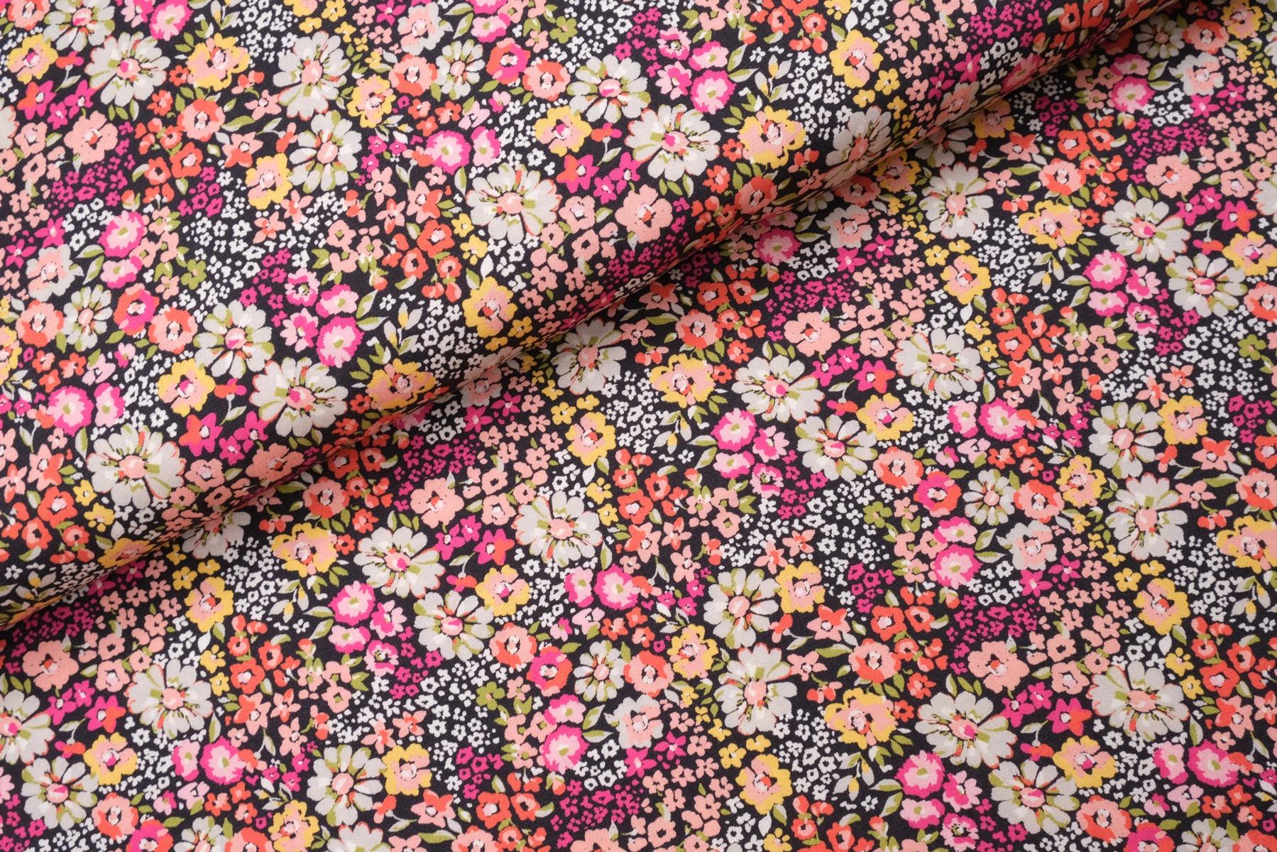 Joli Flower Viscose Roze