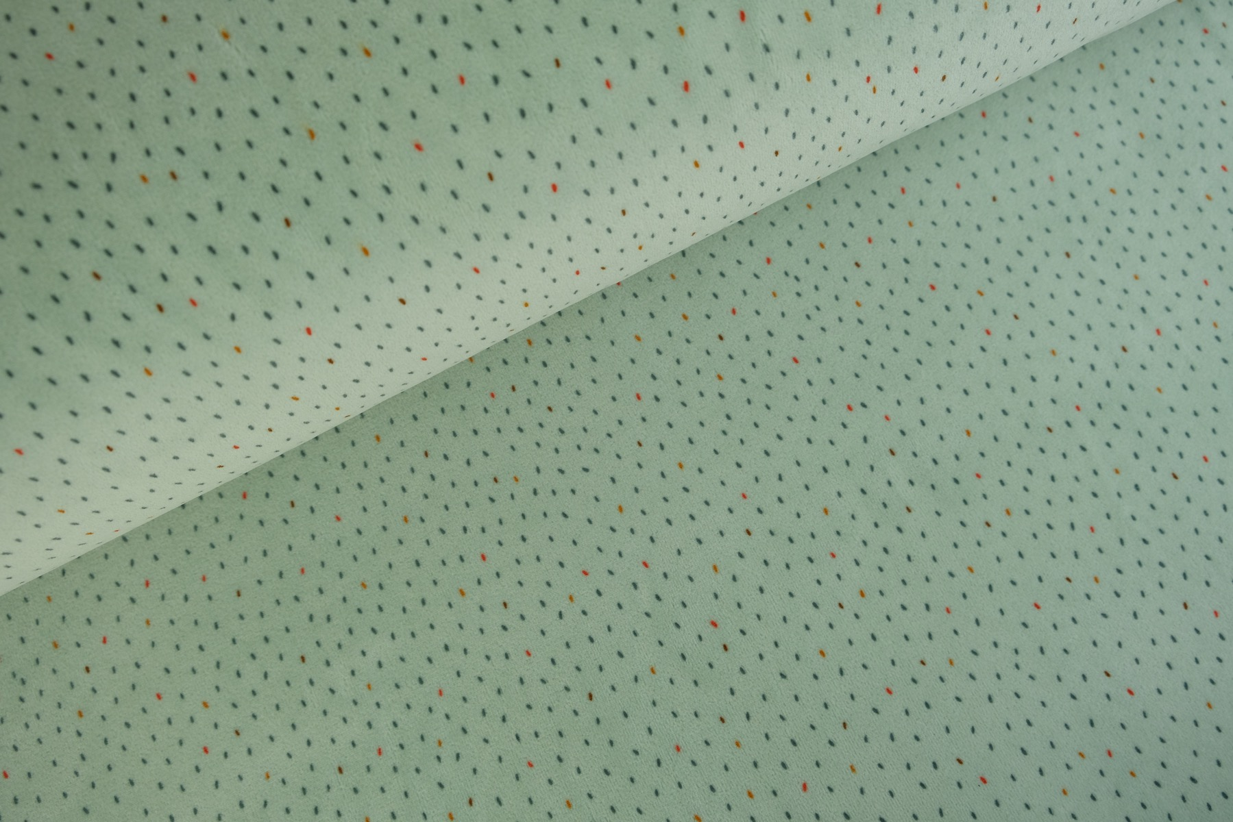 Dots Nicky Velours Oudgroen