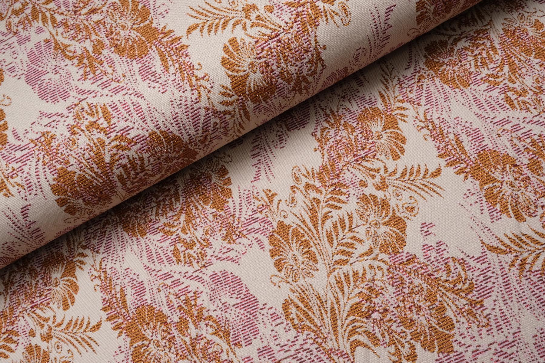 Floraly Jacquard Creme / Brons
