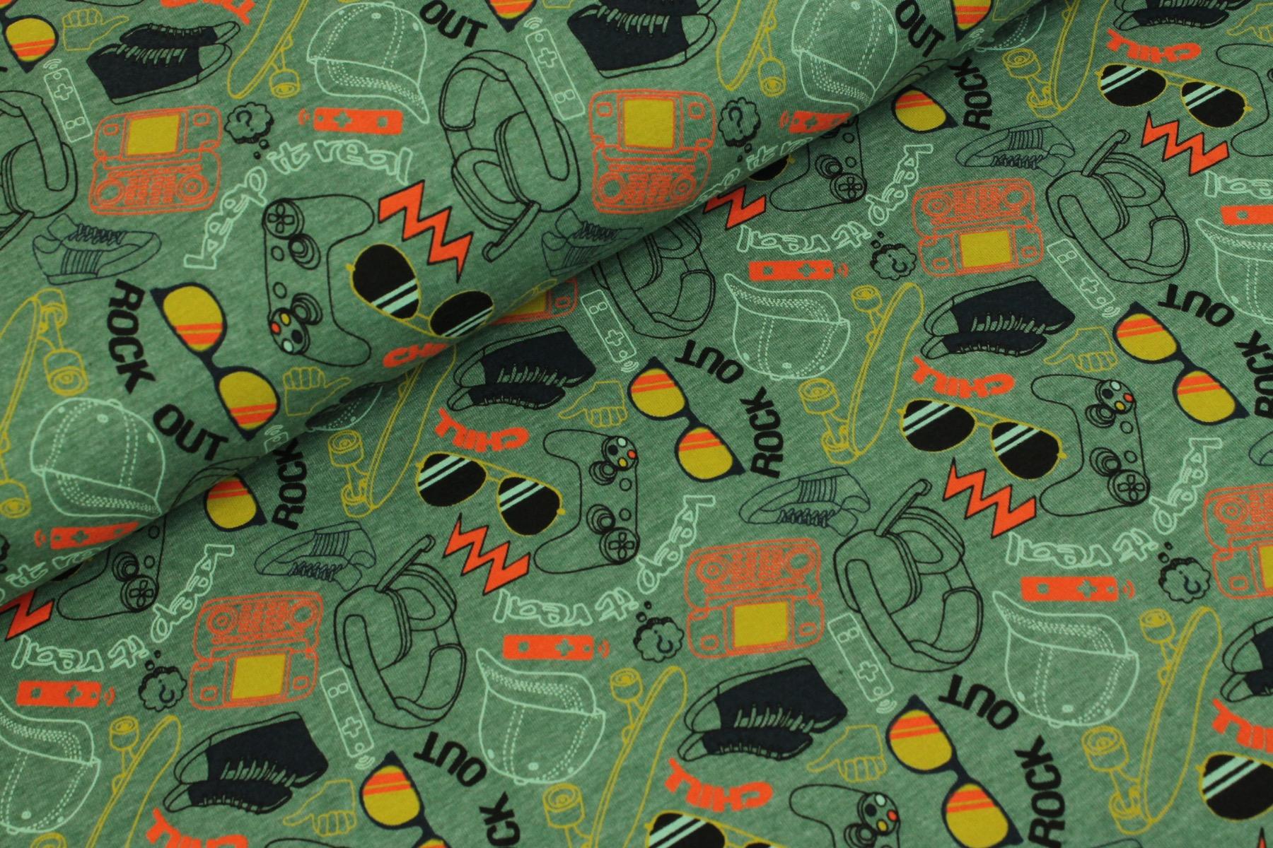 Cool Stuff Tricot Groen  - By Poppy
