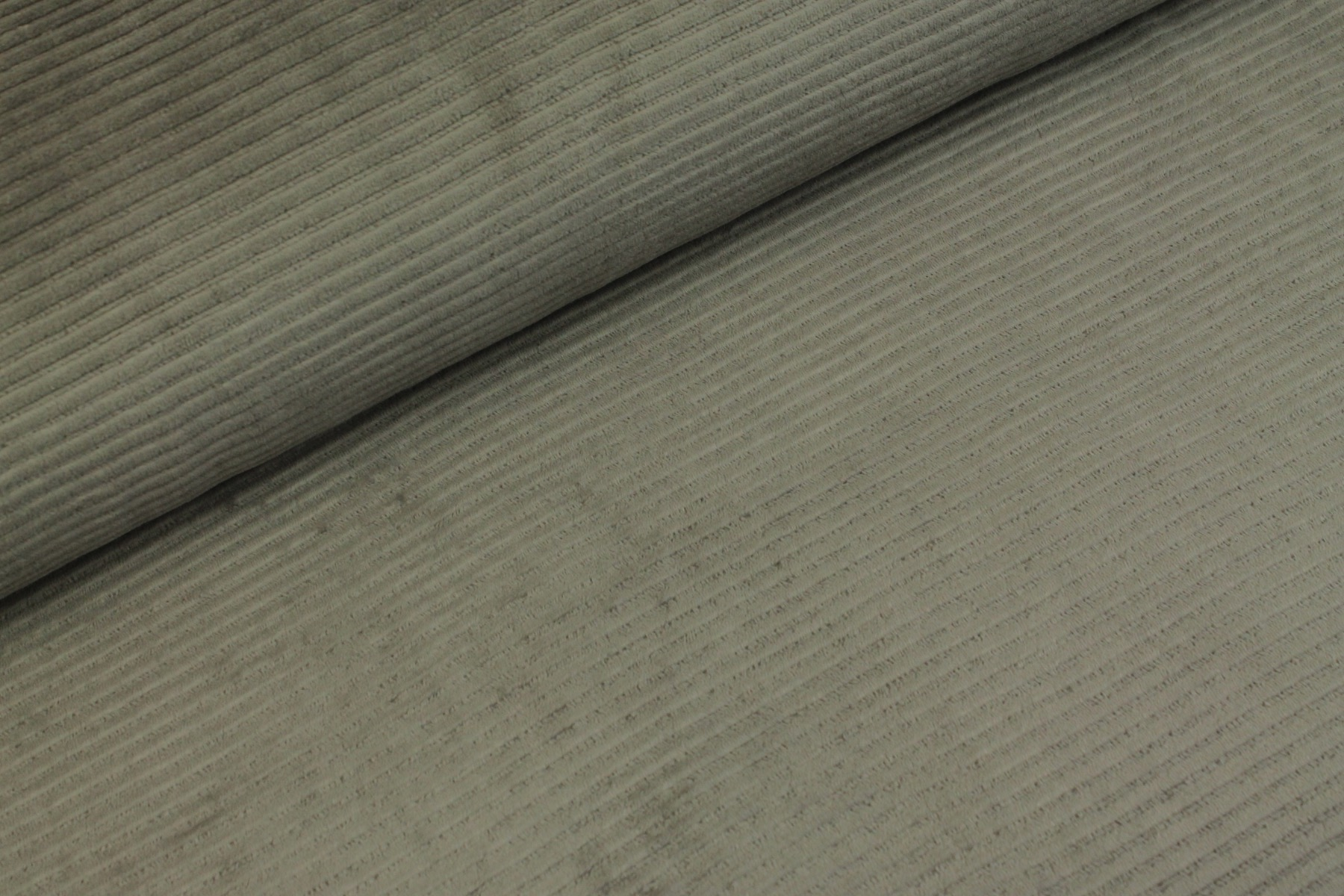 Cotton Knit Big Cord - Grijs