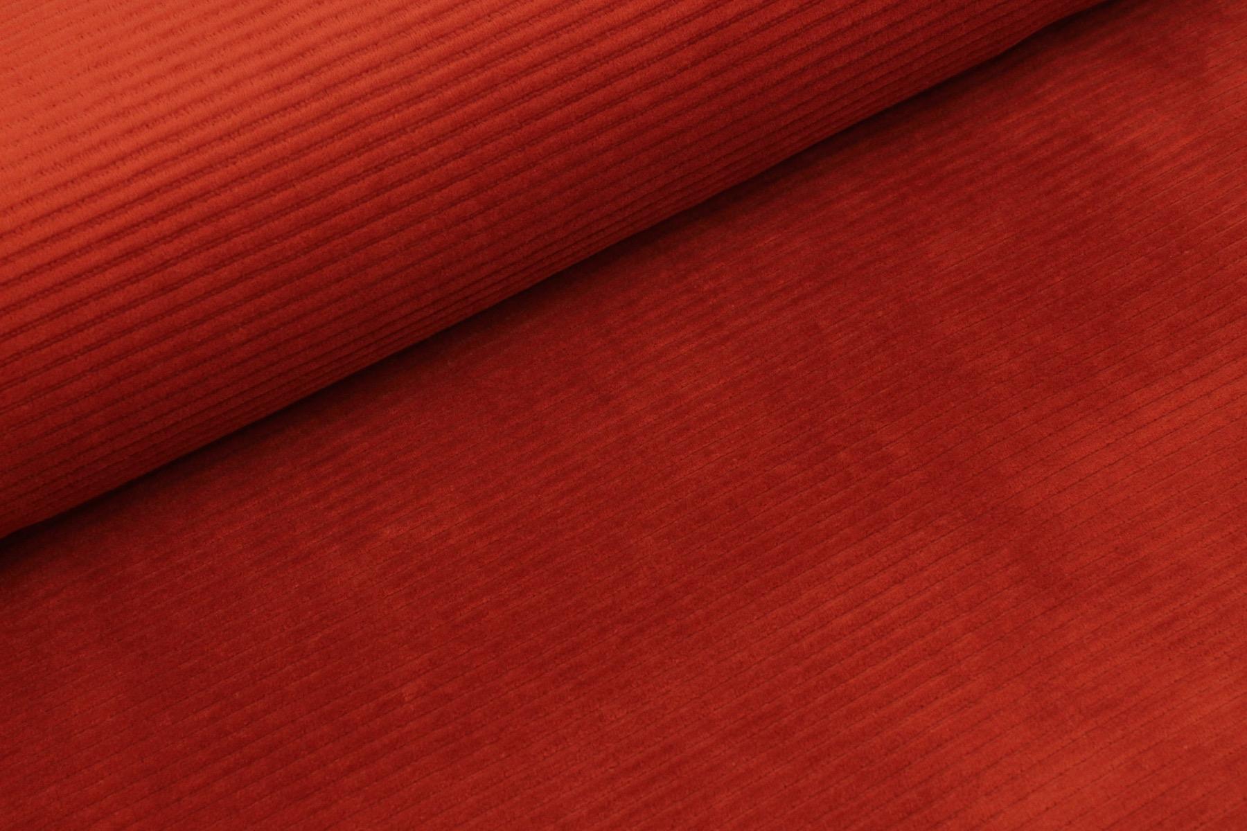 Cotton Knit Big Cord - Brick
