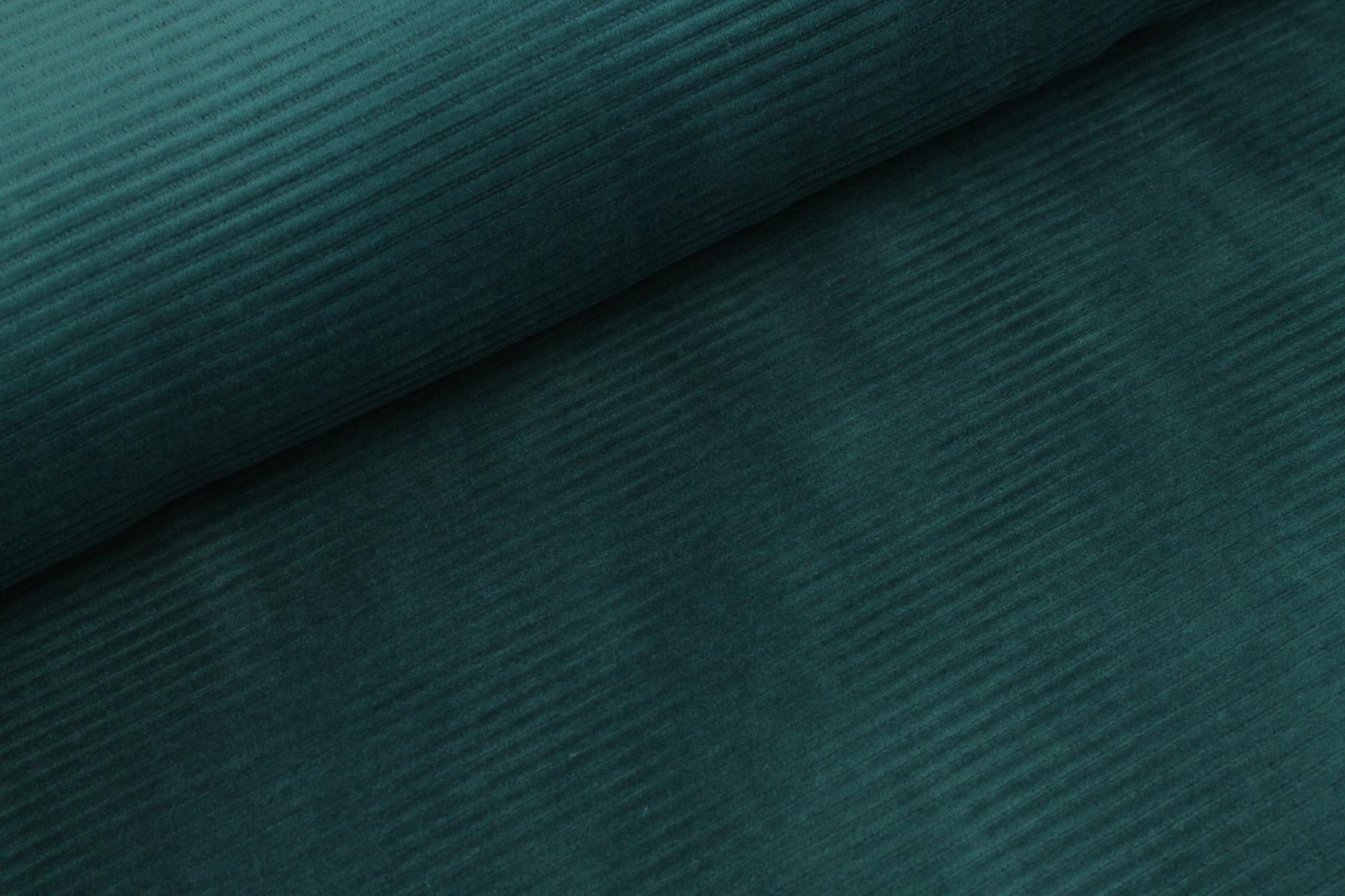 Cotton Knit Big Cord - Donker Petrol