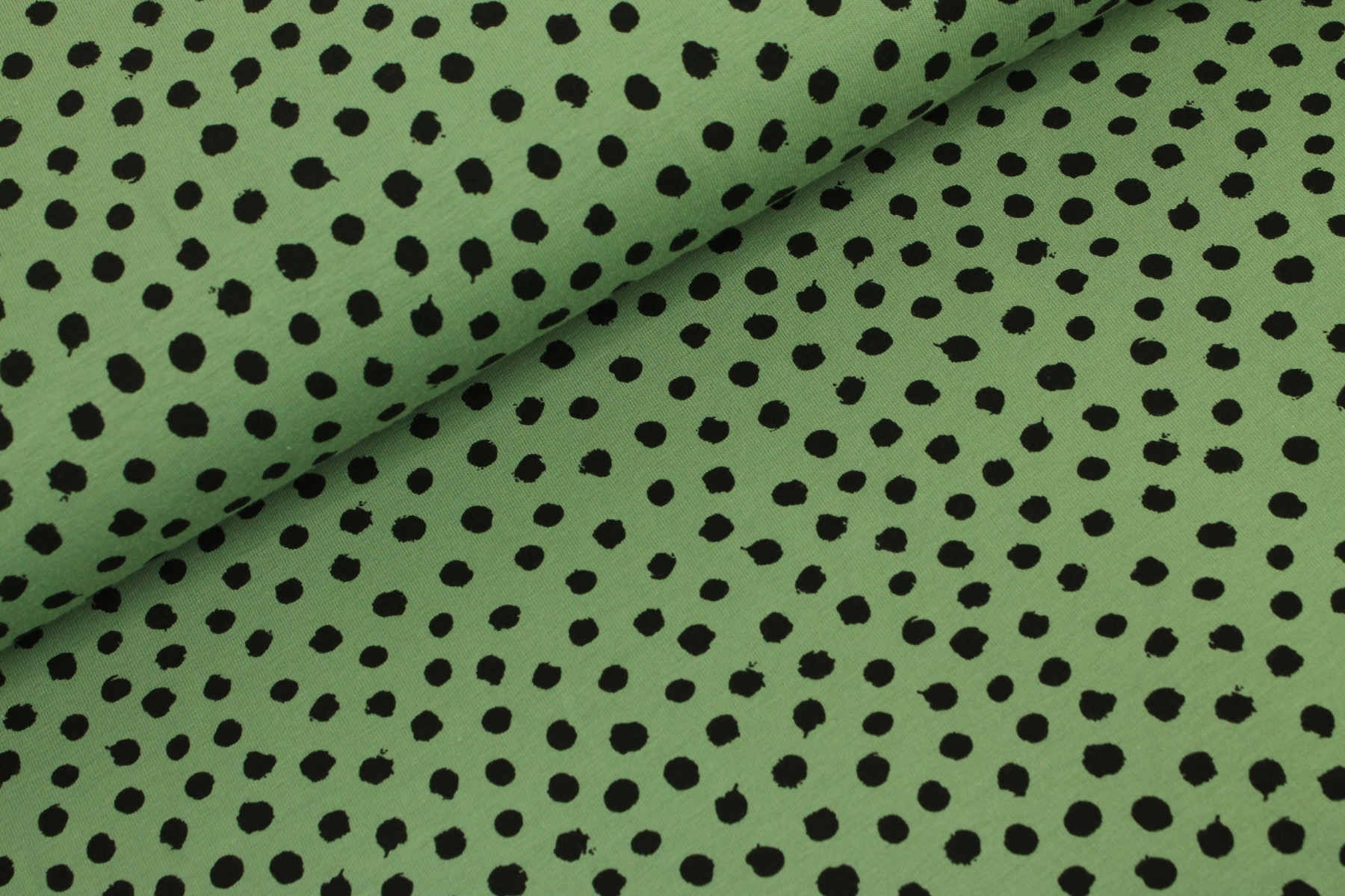 Dots Tricot Groen - By Poppy